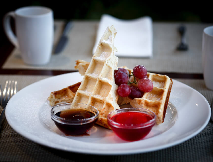 Waffle Makers that Turn Dads (and Moms) into Early-Morning Heroes